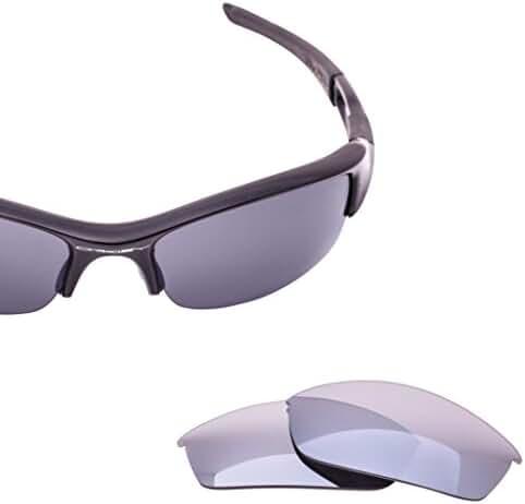 LenzFlip Polarized Replacement Lenses for Oakley FLAK JACKET Sunglasses - Multiple Colors