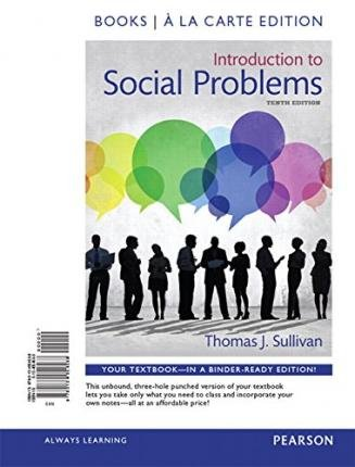 Read Online Introduction to Social Problems, Books a la Carte Edition Plus Revel -- Access Card Package(Hardback) - 2015 Edition ebook