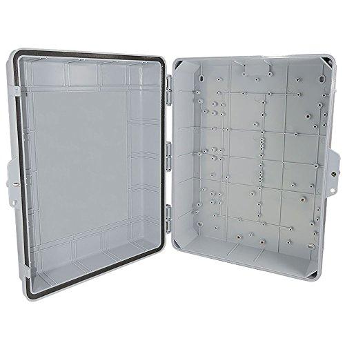 Altelix NEMA Enclosure 14'' x 9'' x 4.5'' Inside Space Polycarbonate + ABS Tamper Resistant Weatherproof Rainproof by Altelix (Image #3)