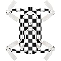 Skin For ZEROTECH Dobby Pocket Drone – Check | MightySkins Protective, Durable, and Unique Vinyl Decal wrap cover | Easy To Apply, Remove, and Change Styles | Made in the USA