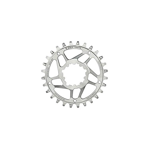 (Wolf Tooth Components SST Direct Mount Drop-Stop 30T Chainring: For SRAM Mountain GXP Cranks with Removable Spiders St)