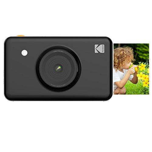 KODAK Mini Shot Wireless Instant Digital Camera & Social Media Portable Photo Printer, LCD Display, Premium Quality Full Color Prints, Compatible w/iOS & Android ()