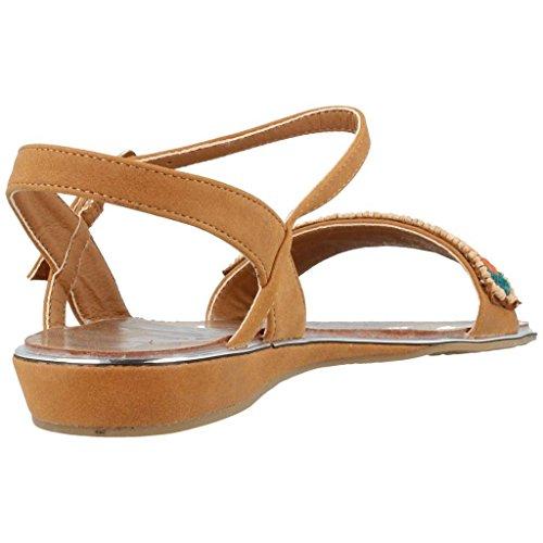 Sandalias y chanclas para mujer, color marr�n , marca CHIKA10, modelo Sandalias Y Chanclas Para Mujer CHIKA10 BUKE 01 Marr�n