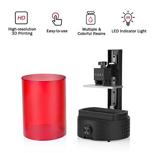 Affordable 3D Printing for Everyone-Sparkmaker Mini Desktop One-button Print SLA Resin 3D Printer-10