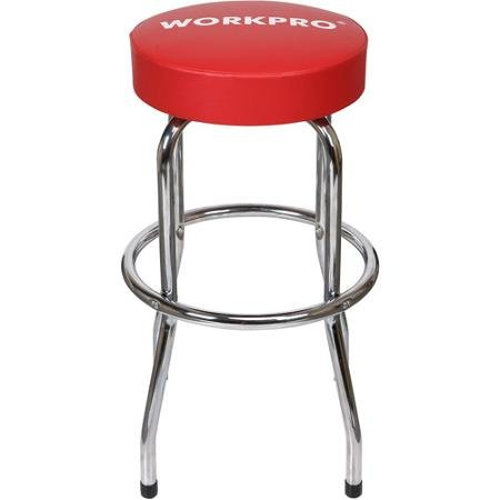 Work Pro Swivel Shop Stool (Bar Stool Single Foot Ring)