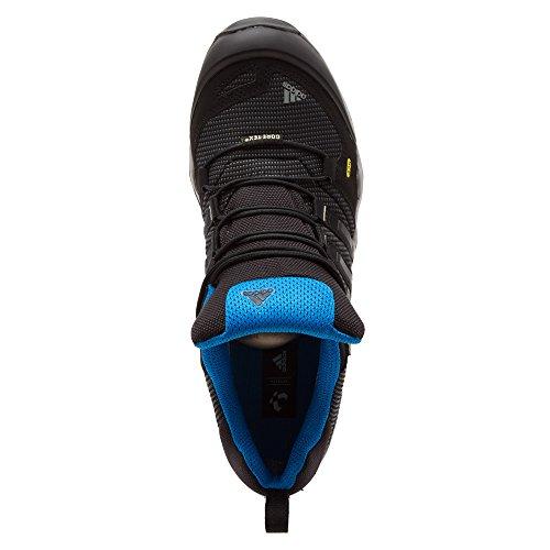 adidas Outdoor Terrex Fast X GTX–Botas de senderismo de la mujer Carbon / Black / Dark Solar Blue