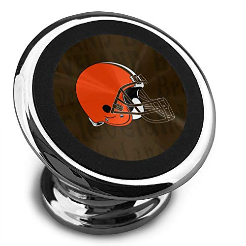 Aoskin Cleveland Browns Universal Magnetic Phone Holder Car Mount with A Super Strong Magnet