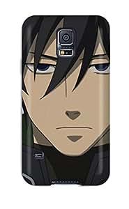 New KizVZro20300yyySC Hei Darker Than Black Skin Case Cover Shatterproof Case For Galaxy S5