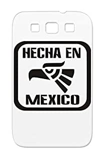 Hecha En Mexico Skid-proof Yellow For Sumsang Galaxy S3 Countries Flags Hecho Mexican Cities Protective Case