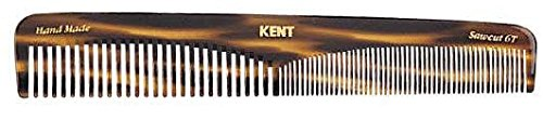 Kent The Hand Made Comb Coarse/Fine for Men, 6.5 Inch, 1 Ounce (Dressing Table Comb)