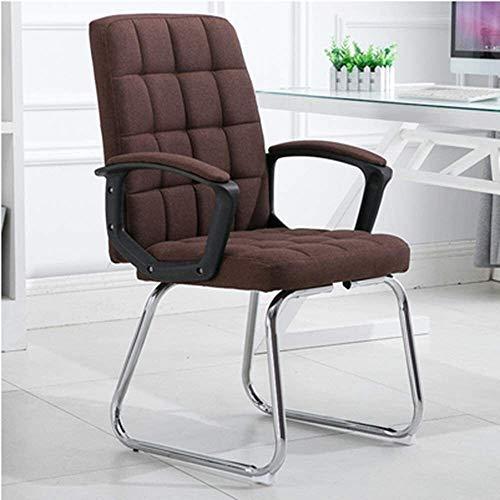 DBL Ergonomisk datorstol rosett fot högrygg tyg spelstol hem kontor skrivbord stol för kontor möte rum lager kapacitet: 150 kg skrivbordsstolar (storlek: svart)