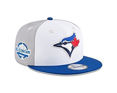 New Era Toronto Blue Jays 2018 MLB All-Star Game 9FIFTY Snapback Adjustable Hat – White/Blue