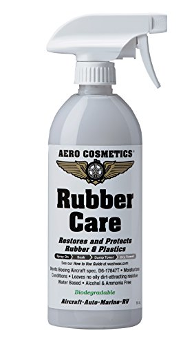 Tire Dressing, Tire Protectant, No Tire Shine, No Dirt Attracting Residue, Natural Satin/Matte Finish, Aircraft Grade Rubber Tire Care Conditioner, Better than Automotive Products, 16oz ()