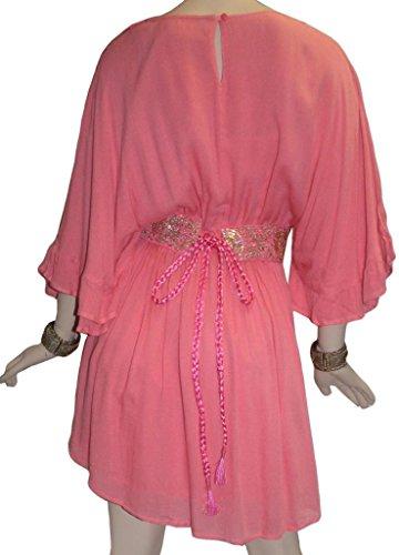 Traders Doll 3751 Baby Dress Medieval Pink Peasant crape DR Agan Rayon Gothic Short da5xvaT