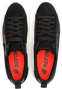 PUMA Men's Clyde #Reform Sneaker, Black
