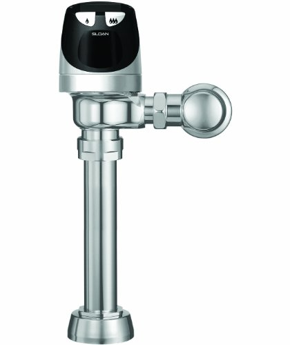Sloan Valve SOLIS 8111-1.6/1.1 SOLIS Solar Powered Dual Flush Flushometer, Chrome by Sloan Valve