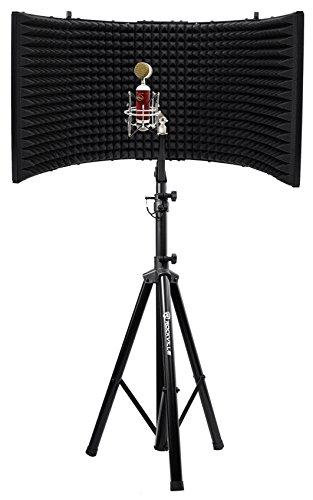 Blue Spark SL Studio Recording Microphone Mic+Foam Isolation Shield+Stand ()
