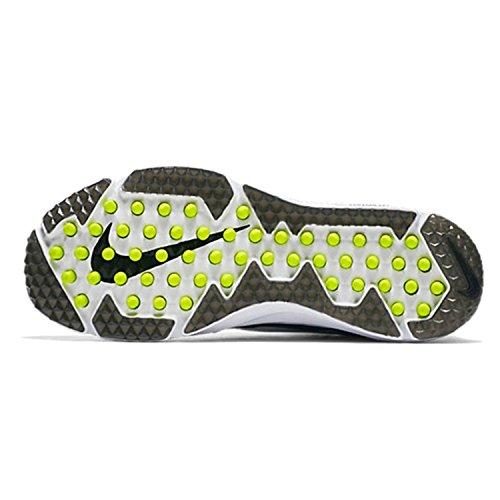 Herren Nike Vapor Speed Turf Fußballschuh Schwarz / Weiß Blitz