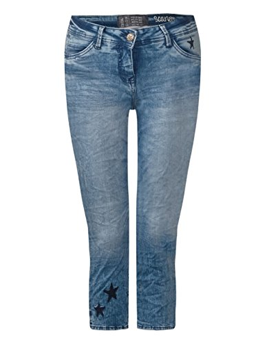 Donna Cecil Straight Used Blu 10239 Wash Jeans authentic 8RRrEA