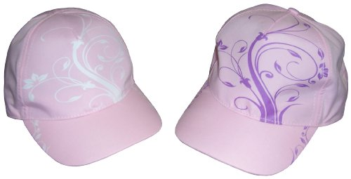 N'Ice Caps Girls Floral Scroll Print Magical Color
