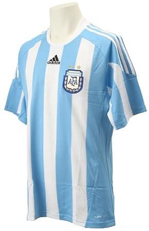 Adidas – Camiseta de fútbol de la selección argentina AFA hogar manga corta Azul Cielo,