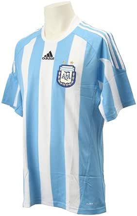 adidas – Camiseta de fútbol de la selección Argentina AFA hogar Manga Corta Azul Cielo, fútbol, Hombre, Color Azul Celeste, tamaño Extra-Large: Amazon.es: Ropa y accesorios