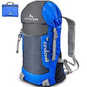 Packable Hiking Travel Backpack – 35L Lightweight Foldable Durable Water Resistant Camping Daypack for Women & Man