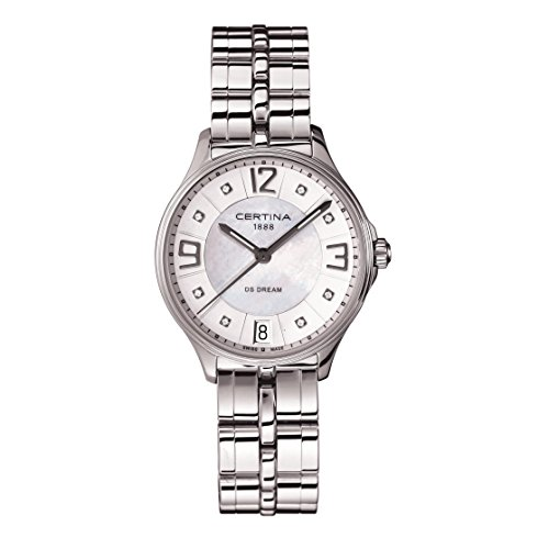 Certina C021.210.11.116.00 - Women's Watch, Stainless Steel, SIlver Tone
