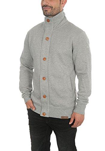 Light Homme Sweat Zippé Tripjacket Melange nbsp; Capuche Solid Grey À APpH7qwv