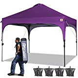 Best Beach Canopies For Parties - ABCCANOPY Canopy Tent 10x10 Pop Up Canopy Instant Review