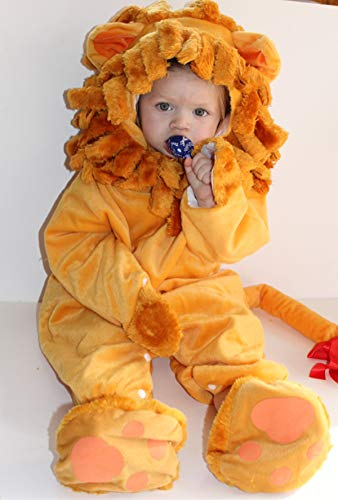 GN Netcom Dulexe Baby Toddler Kids Lil Lion Halloween Costume Dress up Play (Small 6 to 12 -