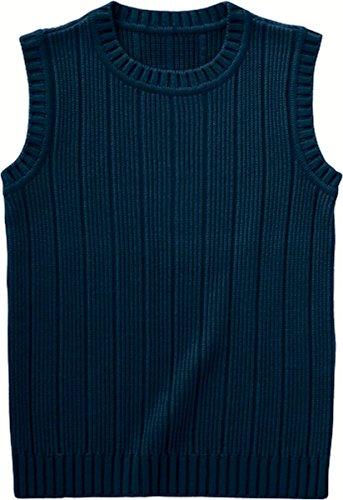 ハプニングロマンスブロッサムクルーネックベスト (ハネクトーン) WP551 ベスト 制服