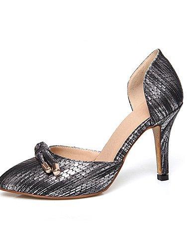 GGX/Damen Schuhe Stiletto Heel Spitz Zulaufender Zehenbereich Schleife d Orsay Pumpe mehr Farbe erhältlich white-us7.5 / eu38 / uk5.5 / cn38