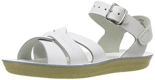 Salt Water Sandals by Hoy Shoe Sun-San Swimmer,White,6 M US Toddler ()