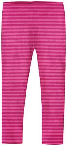 City Threads Girls' Leggings in 100% Cotton for School Uniform Play - Made in USA!