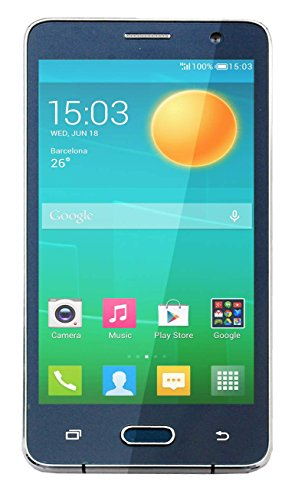M-Horse Model Note5 5 1.3 GHZ Quad Core High Performance 3G Dual SIM Smart Phone-Blue Colour