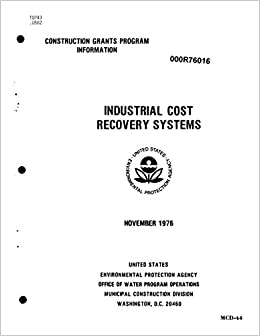 industry cost recovery systems united states environmental