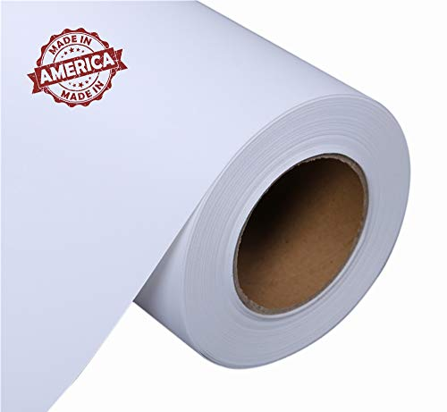 14 Ounce Polyester - Professional Matte Canvas Roll For Epson Canon HP inkjet printer,Surface Polyester Thick Canvas (24