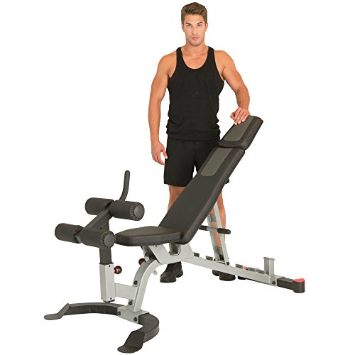 IRONMAN Triathlon X-Class Light Commercial Utility Weight Bench, 1500 lb