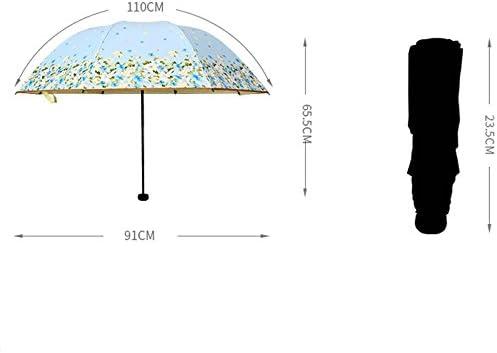 Color : B WMS Sun Umbrella Sun Protection UV Umbrella Sun and Rain Umbrella