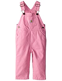 Carhartt Girls' And Infant Girls' Canvas Bib Overall (Various Sizes)