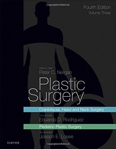 Plastic Surgery: Volume 3: Craniofacial, Head and Neck Surgery and Pediatric Plastic Surgery, 4e