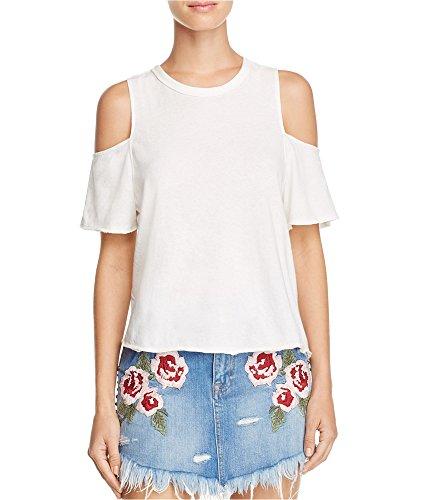 Free Shirts Tee (Free People Women's Taurus Tee White Small)