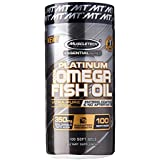 Muscle Tech Essential Series Platinum Fish Oil - 100 Capsules