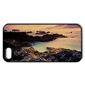 Azores Islands, Portugal, Atlantic Ocean Watercolor style Cover iPhone 5 and 5S Case (Portugal Watercolor style Cover iPhone 5 and 5S Case)