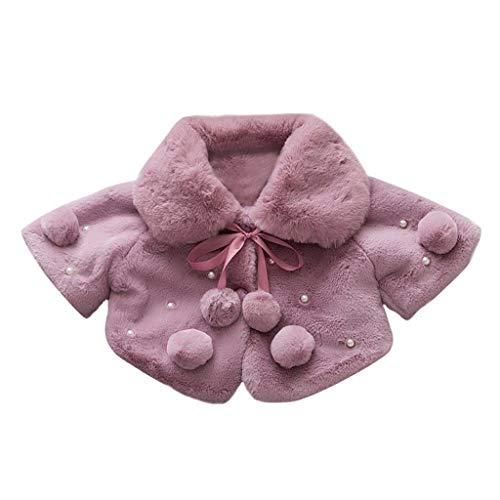 VEKDONE Toddler Kids Baby Long Sleeve Cartoon Print Hooded Coat Tops Rain Jacket ()