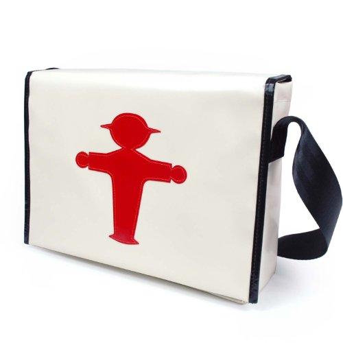 Ampelmann Gmbh - Crossed Bag Beige White Woman