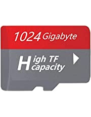 1TB Micro Memory TF Card, Designed for Smartphones, Tablets Memory Card High Speed 1000GB (2021 Red)