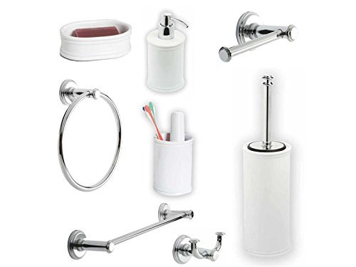 METAFORM Kit accessori bagno impero [Classe di efficienza energetica A+]