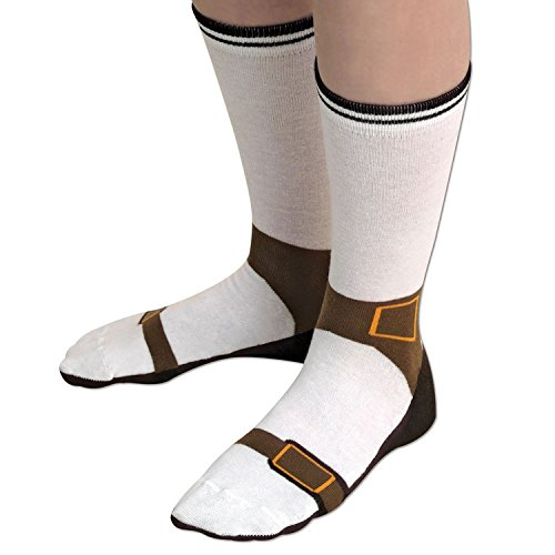 Sandal Socks – Fashion Faux Pas – Looks like you're Wearing Sandals with Socks 85% Cotton – Silly Socks